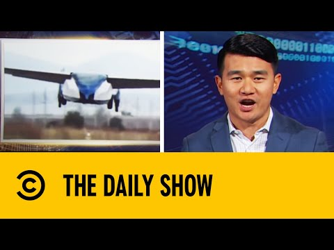Thumbnail: Turns Out Flying Cars Actually Kind Of Suck - The Daily Show | Comedy Central