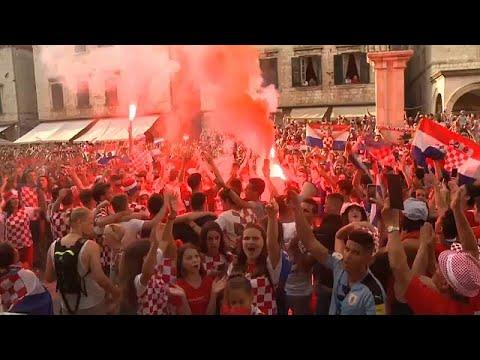 الكرواتيون فخورون بمنتخبهم برغم خسارة نهائي كأس العالم…