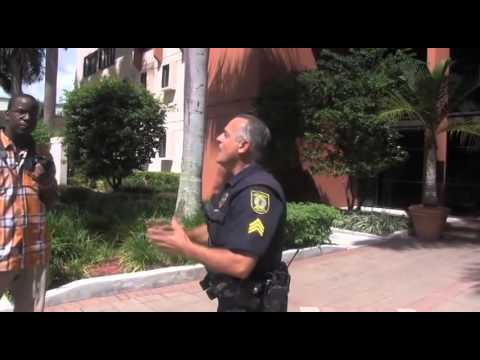 Detained for making public records request in Hialeah