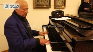 بالفيديو : أول مره تحب يا قلبي يعزفها الموسيقار