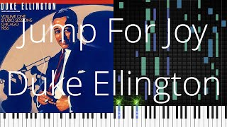 🎹 [Piano Solo] Jump For Joy, Duke Ellington, Synthesia Piano Tutorial