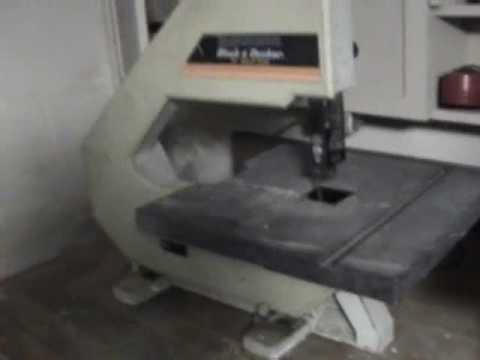 Black Amp Decker 12 Quot Bandsaw Youtube