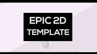 Epic Clean 2D Free Template ! by Prawn.