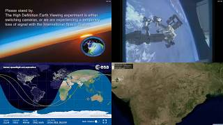 Indian Coastlines And Robotic Arm - NASA/ESA ISS LIVE Space Station With Map - 316 - 2018-12-10