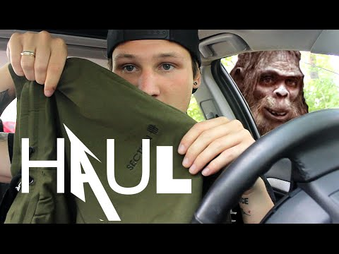 HIGH END CLOTHING.. PICKUPS FOR SASQUATCH HUNTING