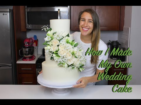 how-i-made-my-own-wedding-cake-|-chelsweets