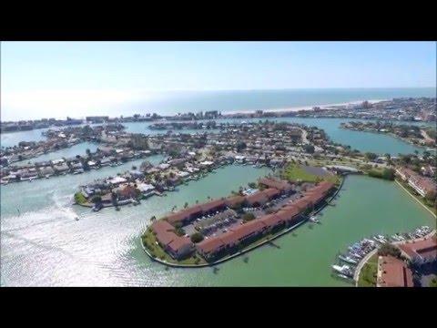 Drone Tour of Treasure Island, FL