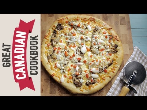 How To Make Donair Pizza Youtube