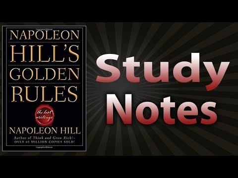 Napoleon Hill's Golden Rules: The Lost Writings by Napoleon Hill