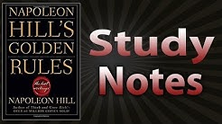 Napoleon Hill's Golden Rules: The Lost Writings by Napoleon Hill (Study Notes)