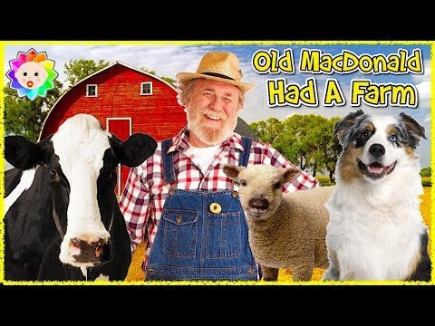 Thumbnail: Old MacDonald Had A Farm - REAL ANIMALS | Nursery Rhymes For Kids by All Babies Channel | Baby Songs