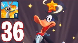 Looney Tunes World of Mayhem - Gameplay Walkthrough Part 36 - Show Biz Daffy 4 Stars Rank Up