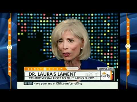 Dr. Laura Quits After N-Word Rant