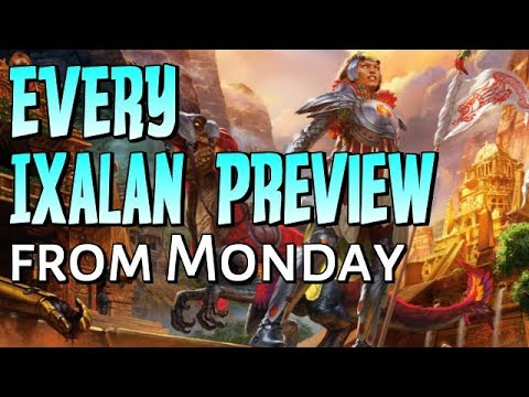 Mtg: SO MANY Ixalan Previews/Spoilers!!!