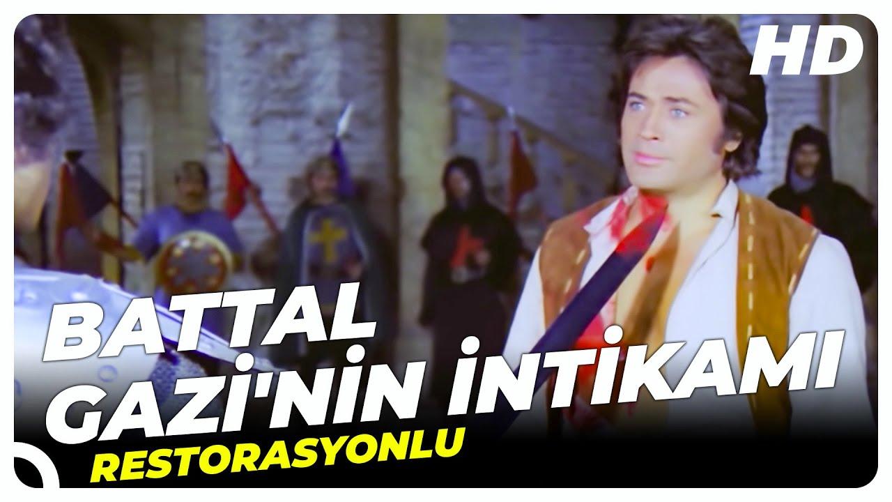 Battal Gazi'nin İntikamı | Eski Türk Filmi Tek Parça (Restorasyonlu)