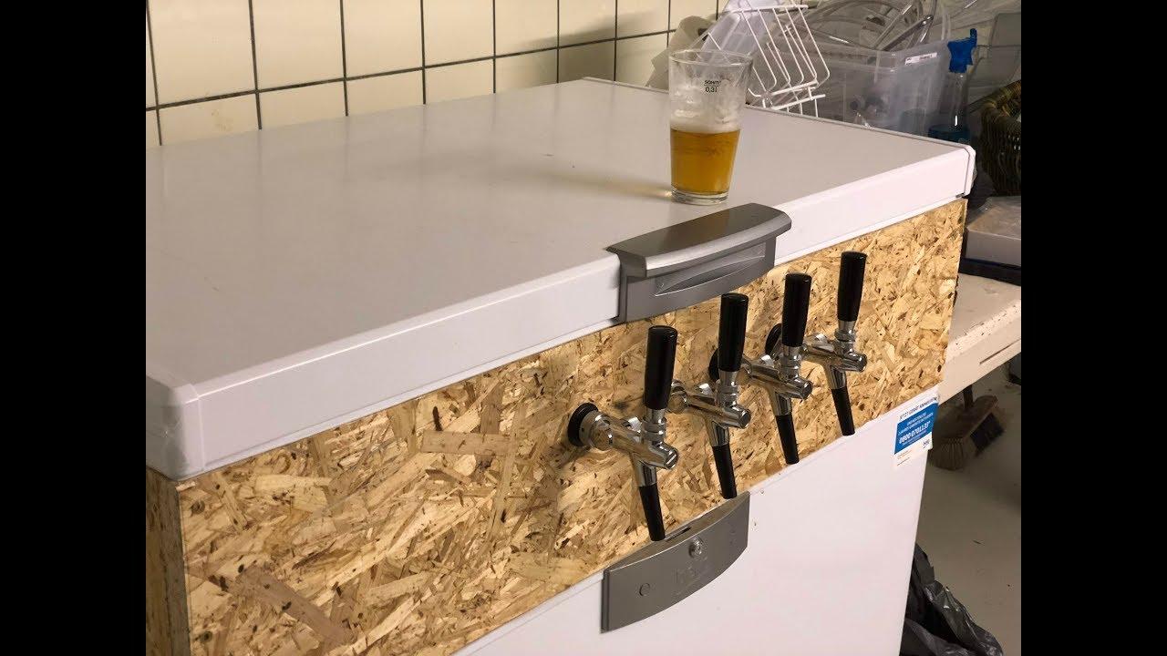 Keezer Bauen Teil 3 3 Schankhähne Und Bierleitungen Youtube
