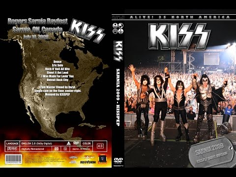 KISS in Sarnia, Ontario, Canada {2009}