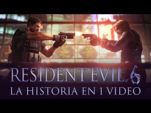 Resident Evil 6 I La Historia en 1 Video