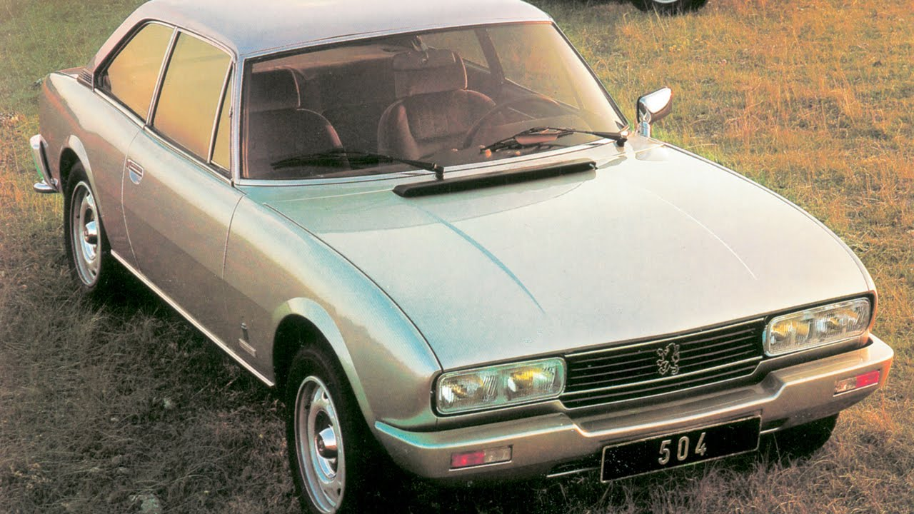 The Peugeot 504 Coupe Channel Youtube Gaming