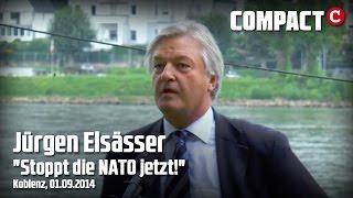 """Stoppt die NATO jetzt!"" - Jürgen Elsässer / Mahnwache Koblenz 1.9.2014 Thumbnail"
