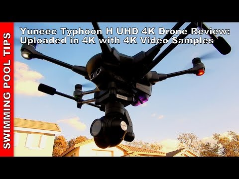 Yuneec Typhoon H UHD 4K Drone Review: Uploaded in 4K with 4K Video Footage from the Drone