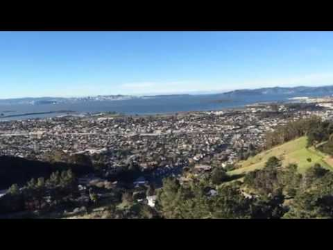 San Francisco Bay, view from East Bay Hills