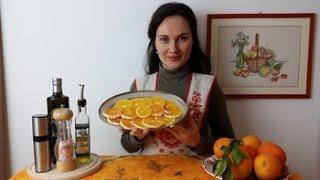 Итальянская Кухня. Салат из апельсинов