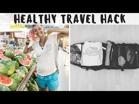 BEST HEALTHY TRAVEL HACK + exploring little corn island nicaragua