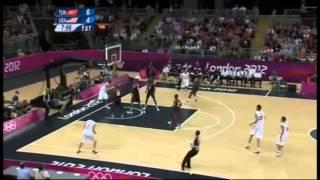 Best Highlights of olympic basketball 2012 - Migliori azioni di basket delle olimpiadi 2012