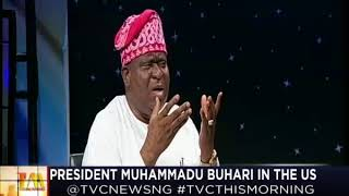 This Morning 30th April 2018 | President Muhammadu Buhari in The US