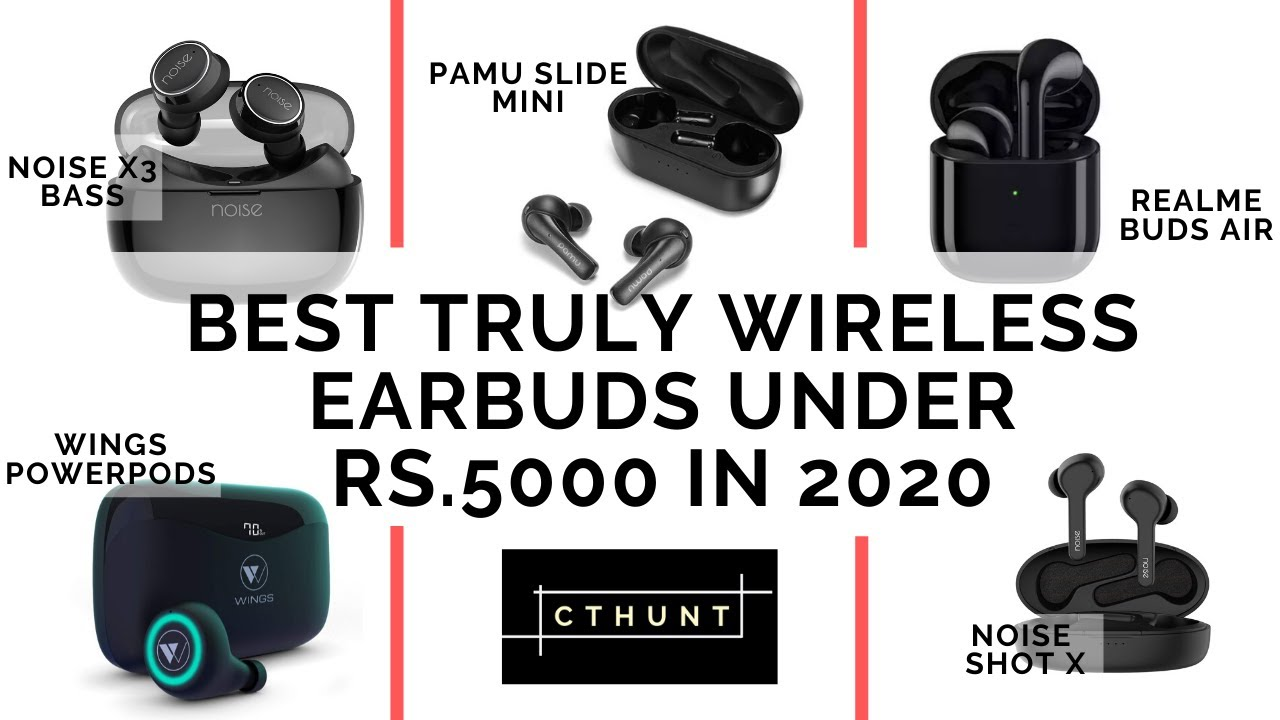 Best Truly Wireless Earbuds Under 5000 In India In 2020 Youtube