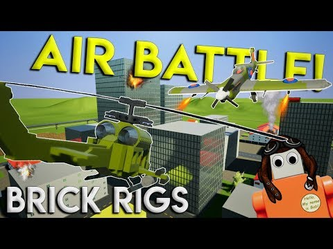 ULTIMATE DOGFIGHT BATTLE CHALLENGE! - Brick Rigs Multiplayer Gameplay Challenge - Airport Update