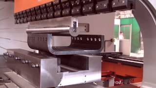 Speed Bend Press Brake 3100X800 45mm Bending(Ermaksan Speed Bend 3100X800 Press Brake Mild steel 45,6 mm / 1.795 inch., 2014-09-17T14:02:24.000Z)