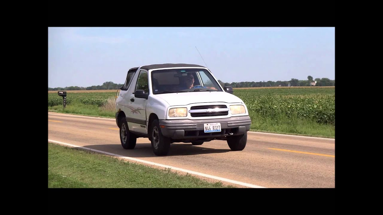 99 tracker test drive 4x4 auto 4 cyl 2 door old see what you missed  [ 1280 x 720 Pixel ]
