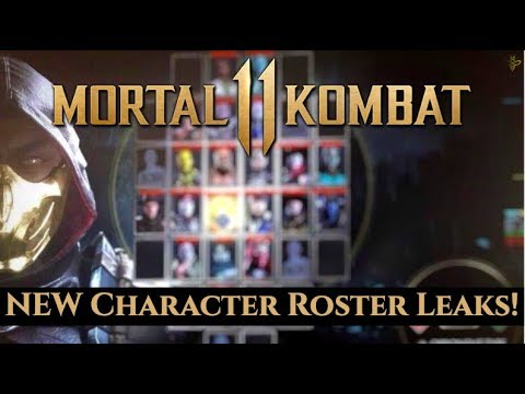 MK11 FULL BASE ROSTER REVEALED! FIRST LOOK AT ERRON BLACK! HUGE MORTAL KOMBAT 11 LEAKS! [SPOILERS]