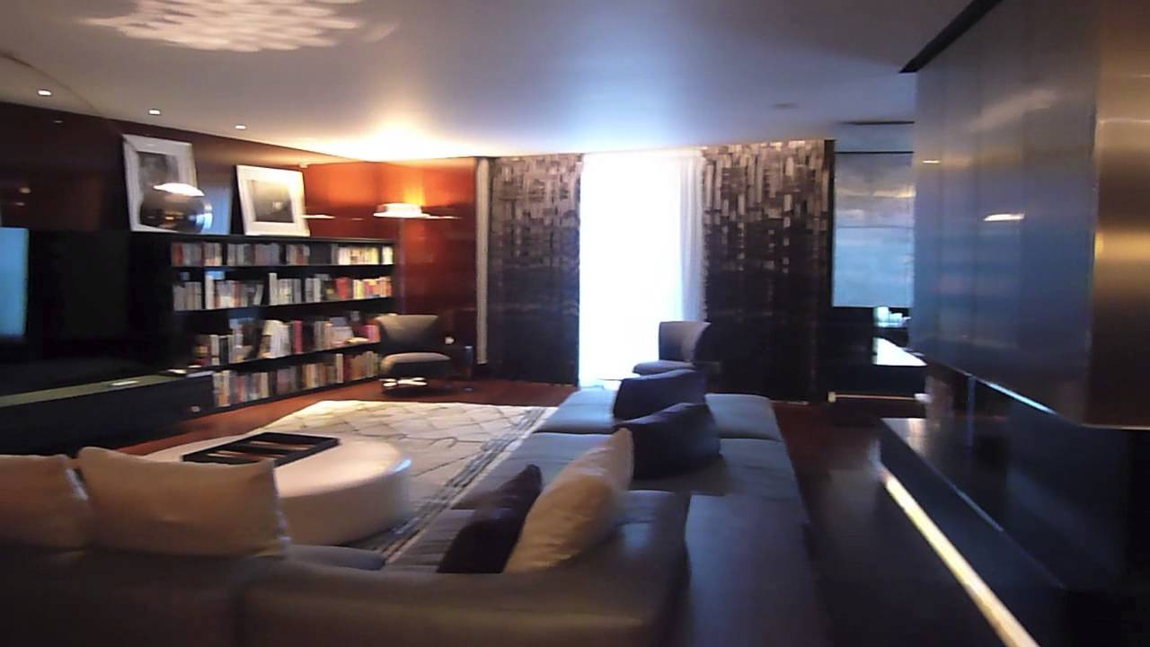 The bulgari hotel london business traveller youtube for Arredo hotel trento