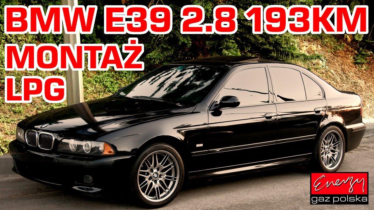 Zupełnie nowe Montaż LPG BMW E39 z 2.8 193KM 1998r w Energy Gaz Polska na gaz SY84
