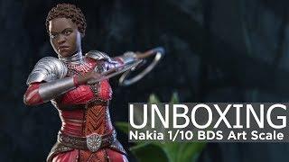 Unboxing - Black Panther BDS Art Scale 1/10 Nakia Iron Studios