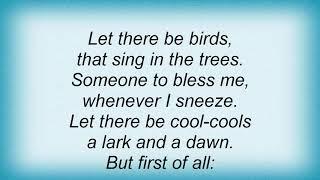 Silje Nergaard - Let There Be Love Lyrics