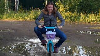 Влог Приколы на детском велосипеде / Демонтаж проводки на кухне / 3.07.2017