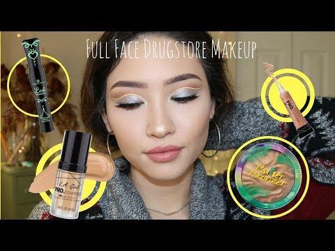FULL FACE Drugstore Tutorial