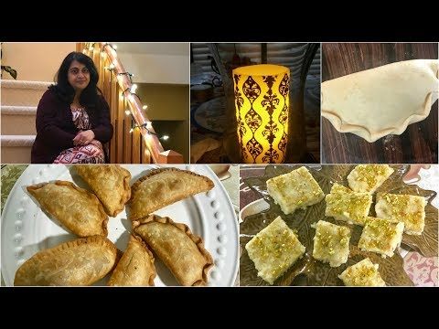 Pre Diwali (Hindi) Vlog 2017 : Making Sweets And Decorating My Home  | Simple Living Wise Thinking