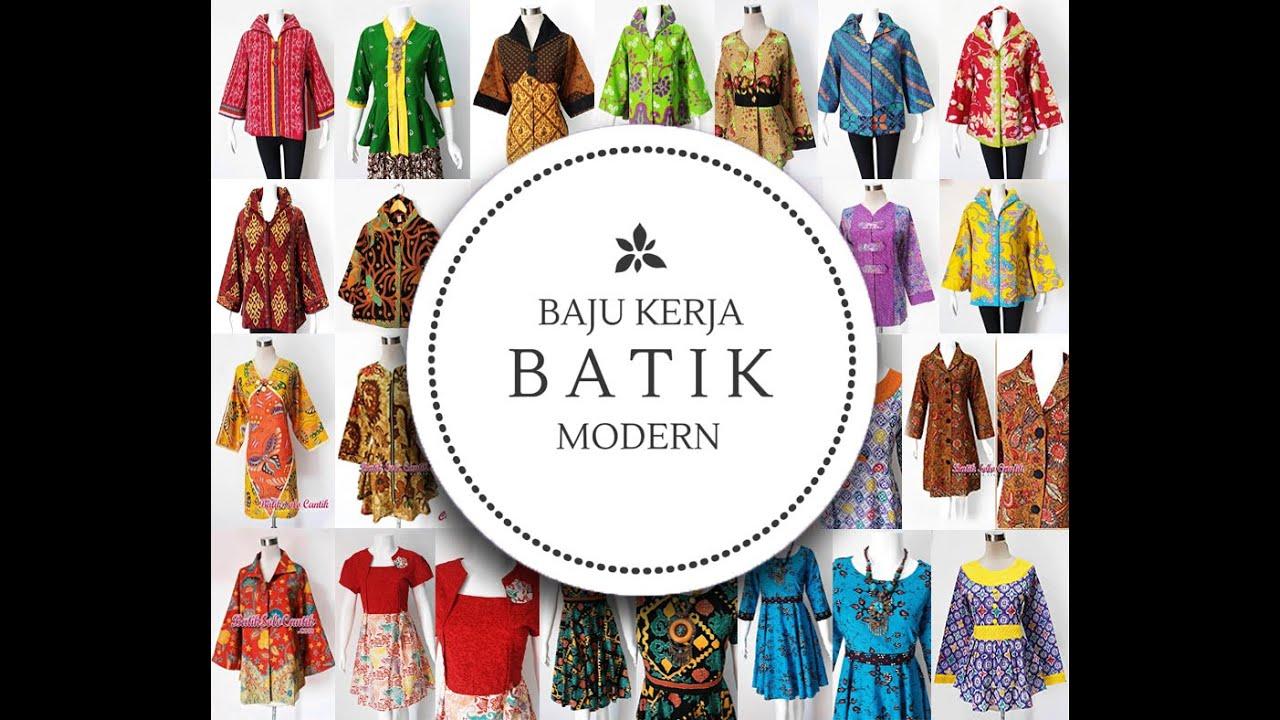 Gambar Batik Modern Couple