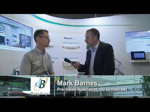 InSight IBC 2015 dB Broadcast