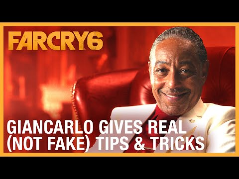 Far Cry 6: Giancarlo Gives Real (Not Fake) Gameplay Tips & Tricks | Ubisoft [NA]