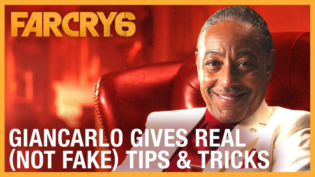 Far Cry 6: Giancarlo Gives Real (Not Fake) Gameplay Tips & Tricks | Ubisoft