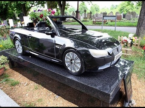 Zengin insanların öldükten sonra gömüldükleri sıradışı mezarlıklar.