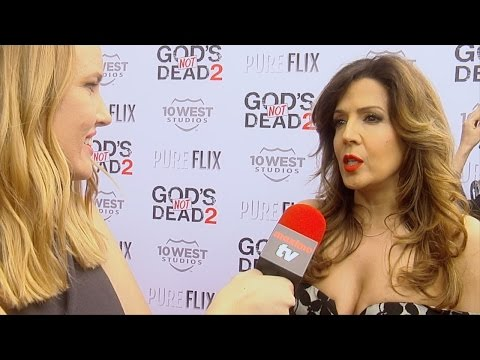 "Maria Canals-Barrera Interview ""God's Not Dead 2"" Premiere Red Carpet"