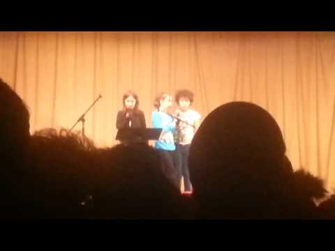 Green street School Talent show act 5: catching my breath cover