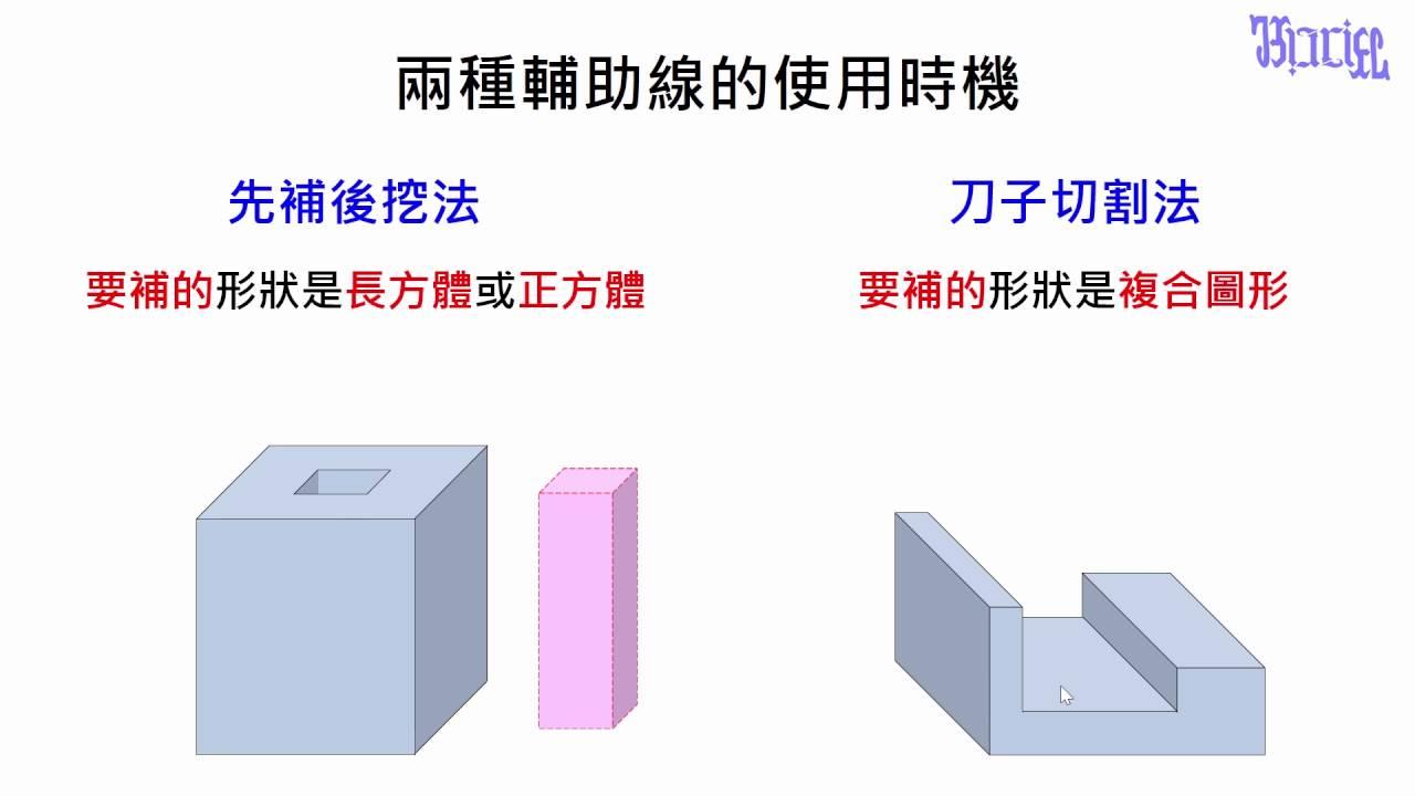 正方體與長方體的體積 - (20)複合圖形的輔助線使用時機 - YouTube